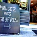Manger des gaufres au Havre, au FREAK, quartier Saint François