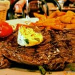 Steak Angus au Resto bar le Funiculaire au Havre