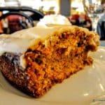 Gâteau aux noix au Resto Bar le Funiculaire au Havre