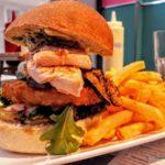 Le Salmon Burger au Denver au Havre