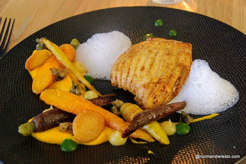 Manger une aile de raie au Havre, au restaurant La Tablée.