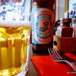 Bière américain La Brooklyn Bel Air Sour au Havre au Fifty's Diner.