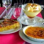 Dessert à la Brasserie de l'aéroport Le Havre Octeville