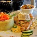 Côte de veau sauce camembert au restaurant Santanna au Havre