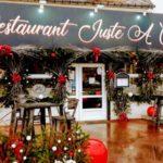 Décoration de Noel restaurant JAC en Normandie