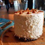 Entremet vanille dessert maison au restaurant la Colombe au Havre