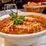 Soupe à l'oignon au restaurant Bouchon Normand au Havre