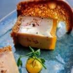 Foie gras de canard et clémentine au restaurant Margote au Havre