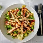 Salade César, au restaurant O Fourno au Havre