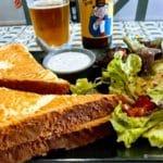 Croque monsieur au pain perdu au Havre chez FREAK