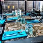 Restaurant Juste à Coté à St Romain Colbosc - La terrasse