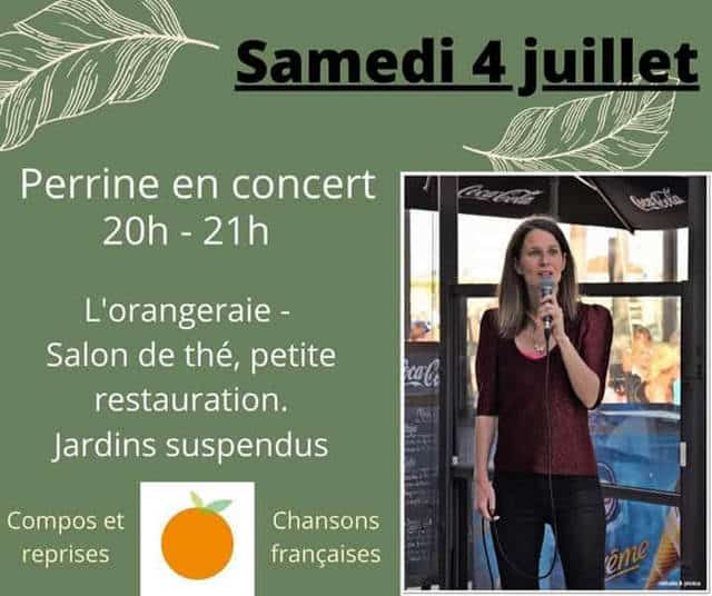 concert à l'orangeraie au Havre