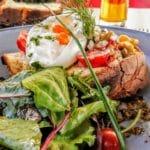 Tartine de burrata et légume à Yport