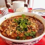 Marmite de porc Sichuannaise 水煮肉片