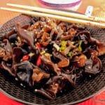 Salade de champignons noirs au Havre, cuisine chinoise