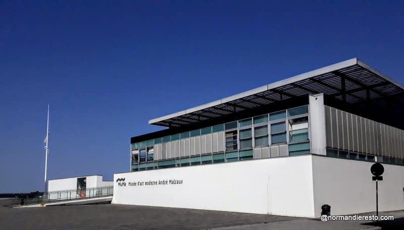 Musée MuMa au Havre et son restaurant