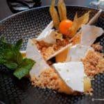 Meringue citronnée restaurant Anecdote le Havre