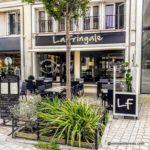 Restaurant dans les rues piétonnes du Havre