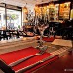 Restaurant la Fringale au Havre dans les rues piétonnes